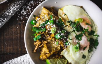 Salsa Verde Chicken Chilaquiles